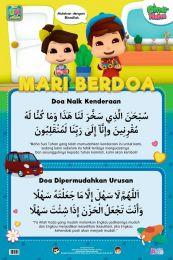 Poster Mari Berdoa: Doa Naik Kenderaan & Dipermudahkan Urusan Omar & Hana