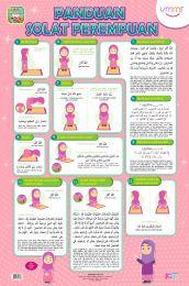 Poster Panduan Solat Perempuan Ummi
