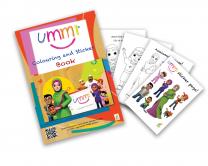 Ummi Colouring Book & Sticker