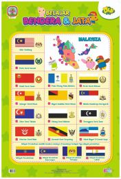 Poster Belajar Bendera & Jata Didi & Friends