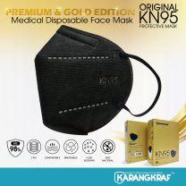 KN95 Medical Protective Mask (Black) - 10pcs