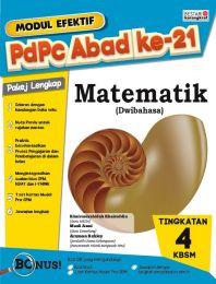 Modul Efektif PdPc Matematik Tingkatan 4