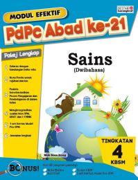 Modul Efektif PdPc Sains (Dwibahasa) Tingkatan 4