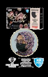 Surgical Face Mask Karangkraf Headloop [10 Helai] - Hitam