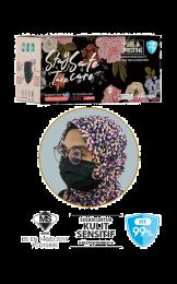 Surgical Face Mask Karangkraf Headloop [50 Helai] - Hitam