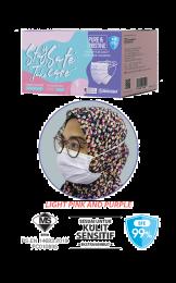 Surgical Face Mask Karangkraf Headloop [50 Helai] - Pink & Purple
