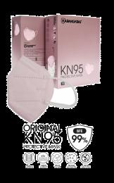 Karangkraf KN95 Medical Protective Face Mask 5ply (Pink) - 10pcs