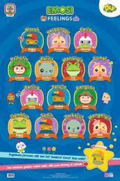Poster Emosi (Feelings) Didi & Friends