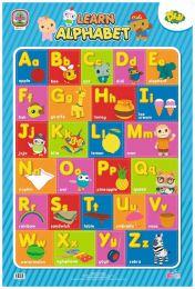 Poster Learn Alphabet Didi & Friends