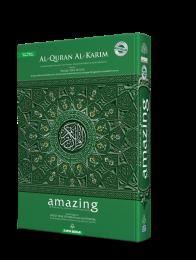 Al-Quran Al-Karim Amazing A4 [New Cover]