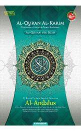 Al-Quran Al-Karim Al-Andalus Perjilid (Terjemahan Perkata + Waqaf Ibtida')  A4 (BULK)
