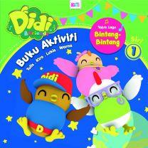 Buku Aktiviti Didi & Friends - Bintang-bintang - Siri 1