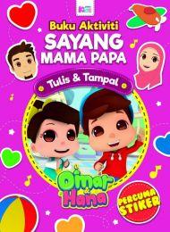 Buku Aktiviti : Sayang Mama Papa (Percuma stiker)