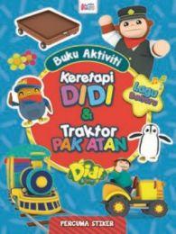 Buku Aktiviti Didi & Friends: Keretapi Didi & Traktor Pak Atan (Sticker)