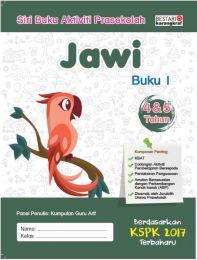 Siri Buku Aktiviti Prasekolah Jawi (Buku 1 - 4 & 5 Tahun)