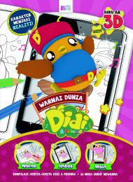 Warnai Dunia Didi & Friends (Buku 3D AR)