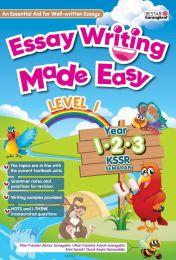 Essay Writing Made Easy Year 1,2,3 (2020)