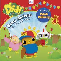 Buku Aktiviti Didi & Friends – Pokok Mulberry (Siri 4)