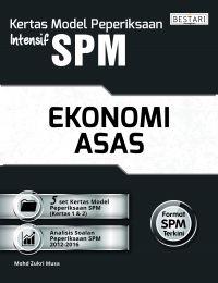 Kertas Model Peperiksaan Intensif SPM - Ekonomi Asas (Bulk)