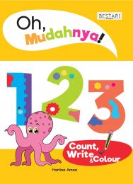 Oh, Mudahnya! 123 Count, Write & Colour (BULK)