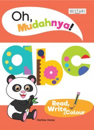 Oh, Mudahnya! abc Read, Write & Colour (BULK)