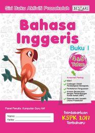 Buku Aktiviti Prasekolah 4 & 5 Tahun - Bahasa Inggeris (Buku 1)