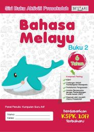 Buku Aktiviti Prasekolah 6 Tahun - Bahasa Melayu (Buku 2)