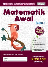 Buku Aktiviti Prasekolah 4 & 5 Tahun - Matematik Awal (Buku 1)