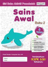 Siri Buku Aktiviti Prasekolah Sains Awal (Sains 2 - 6 Tahun) (BULK)
