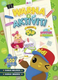Buku Warna & Aktiviti bersama Didi & Friends: Bentuk & Warna