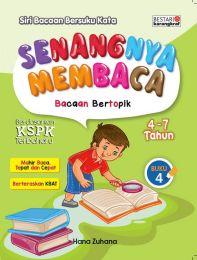Senangnya Membaca Bacaan Bertopik 4-7 Tahun Buku 4