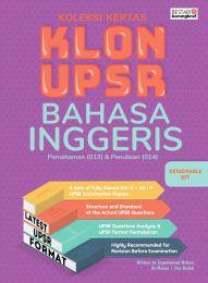 Koleksi Kertas Klon UPSR Bahasa Inggeris (2020)
