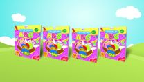 Colouring ABC with Didi & Friends (10 PCS)