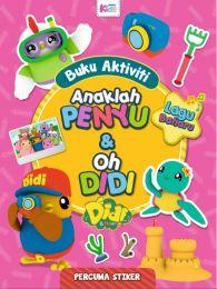 Buku Aktiviti Didi & Friends: Anaklah Penyu & Oh Didi (Stiker)