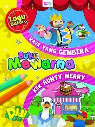 Buku Mewarna Didi & Friends: Raja Yang Gembira & Kek Aunty Merry