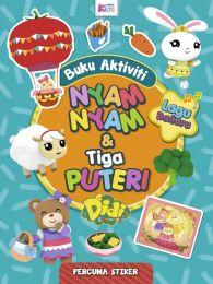 Buku Aktiviti Didi & Friends: Nyam-nyam & Tiga Puteri (Stiker)