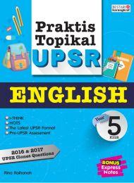 Praktis Topikal UPSR (2018) Tahun 5 - English
