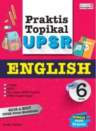 Praktis Topikal UPSR (2018) Tahun 6 - English