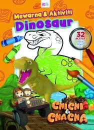 Chichi & Chacha: Warna & Aktiviti Dinosaur