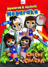 Chichi & Chacha: Warna & Aktiviti Negaraku (Edisi Merdeka)