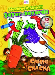 Chichi & Chacha: Warna & Aktiviti Sayur-sayuran