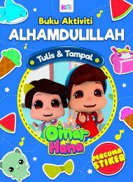 Buku Aktiviti : Alhamdullilah (Percuma stiker) (Omar & Hana)