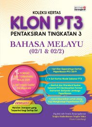 Koleksi Kertas KLON PT3 Bahasa Melayu 2020