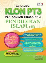 Koleksi Kertas KLON PT3 Pendidikan Islam 2020