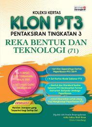 Koleksi Kertas KLON PT3 Reka Bentuk Dan Teknologi 2020