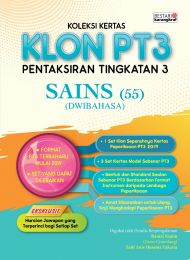 Koleksi Kertas KLON PT3 Sains (Dwibahasa) 2020