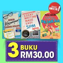 ESSAY WRITING, KARANGAN & PETA MINDA SEJARAH SPM: 3 BUKU RM30