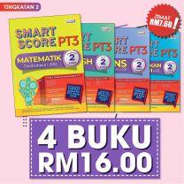 SMART SCORE PT3 TINGKATAN 2 (2020) - 4 BUKU RM16