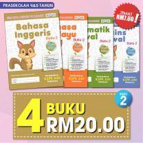 PRASEKOLAH 4&5 TAHUN BUKU 2 4 BUKU RM20