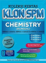 Koleksi Kertas Klon SPM Chemistry (Bilingual)